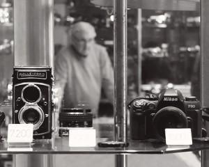 Camera shop in Prague