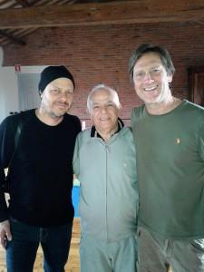 Me, Enzo, and David