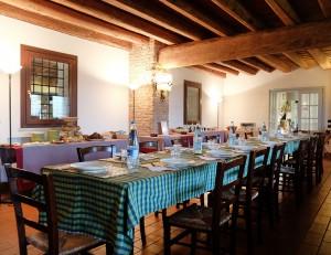Tenuta La Pila dining hall