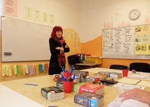 Petra, my Czech teacher