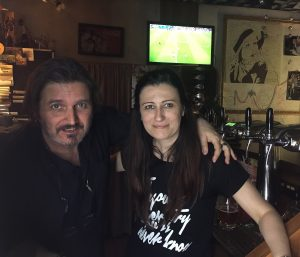 Luca and Sara, The Italian owners of Simply Y Kravaty